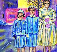 Easter Sunday 1955 by hickerson