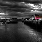 Pink House on the Harbour by Rob Hawkins