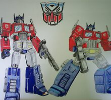 Transformers Optimus Prime by chrisjh2210