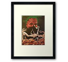 Figure and Mask no.2: Role Play  Framed Print