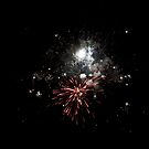 Canada Day Fireworks by Areej