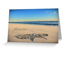 The Butterfly of Peace Greeting Card