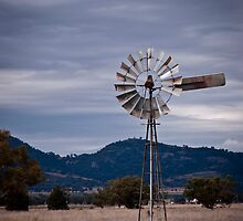 Windmill; North West NSW by lu138