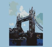 London Tower Bridge UK by cheeckymonkey