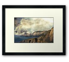 The Edge of Ancient Seasons. Framed Print