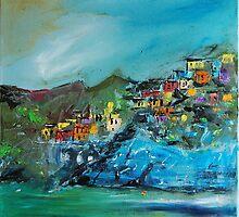Manarola - Cinque Terre-Manarola Italy  VI. by andrassyp