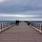 Walking on the Pier by Trevor Kersley
