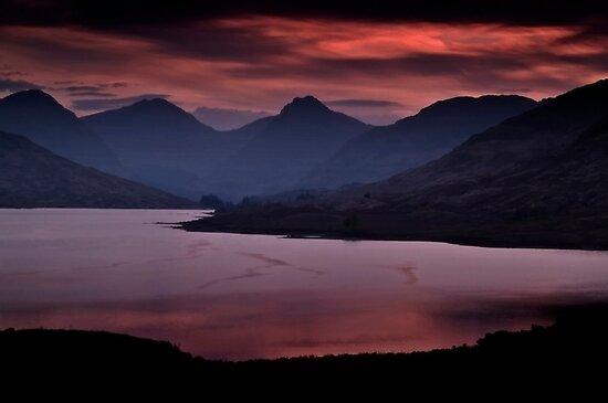 Red Sky At Night. by Aj Finan