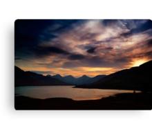 Arrochar Alps At Loch Arklet Canvas Print
