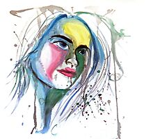 Water Portrait by celloismistic