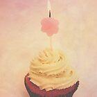 Cupcake Birthday Card  by Nicola  Pearson