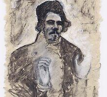 Delacroix's Portrait by Pascale Baud