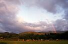 Rainbow in Llanfairfechan by Michael Haslam
