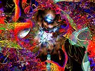 Three Layer Blender #3: Jewel of Denial abstract (UF0366) by barrowda