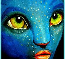 Blue Wonder by artisandelimage