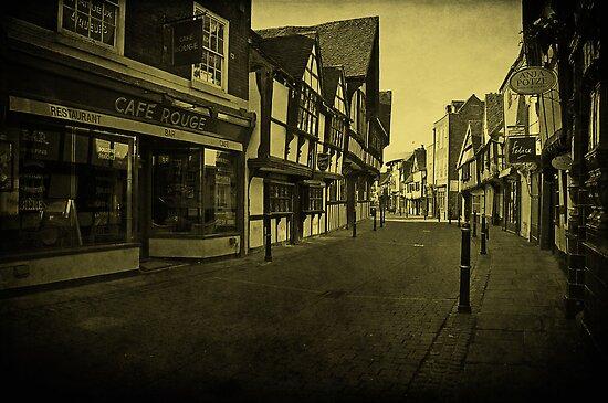 Friar Street, Worcester by Lissywitch