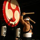 Traditional Japanese Drummer by Manuel Fernandes