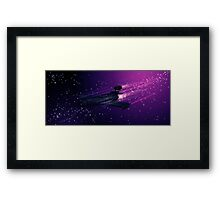 Space Cruiser Framed Print