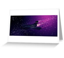 Space Cruiser Greeting Card