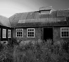 Derelict Farmstead by Dave Godden