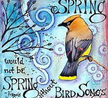 Spring Songs by Vickie Hallmark