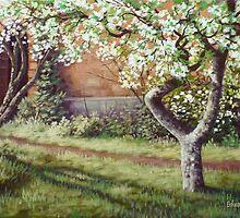 the blooming wall by edisandu
