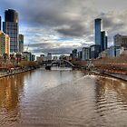 Melbourne by Barbara  Glover