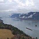 Columbia River view from Cape Horn by delaluna photography