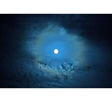 """Metzli azul"" , ""Blue Moon"" Photographic Print"