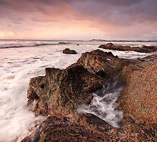 Morning-Black Head-NSW Mid North Coast by Rodney Trenchard