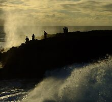 Blowholes, Quobba, Western Australia by Julia Harwood