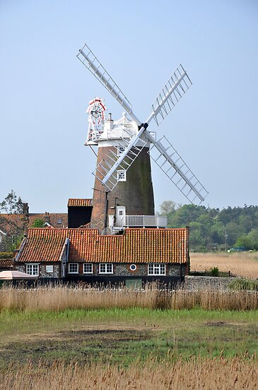 Cley Windmill from the east by cleywindmill