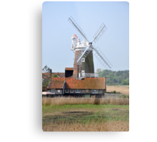 Cley Windmill from the east Metal Print