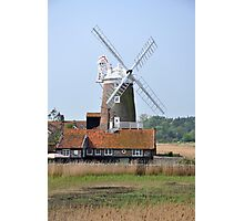 Cley Windmill from the east Photographic Print