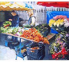 Saturday Market, Galway City Photographic Print
