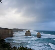 Twelve Apostles Great Ocean Road by Waqar