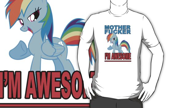 Awesomeness, etc (white shirt) by Northern Dash