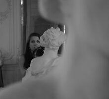 Self Portrait with Rodin by Jamie Alexander