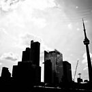 Toronto City Scape by Jason Dymock