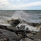 """ Lake Ontario Waves - Sodus N.Y "" by DeucePhotog"