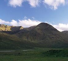 Evening Light on South Kintail Ridge by photobymdavey