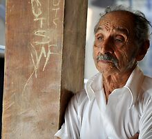 Deep Thinking - El Salvador by Jacquelyn Melling