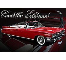 1960 Cadillac 62 Series Convertible El Dorado Photographic Print