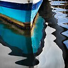 Boat Abstract by Lynnette Peizer