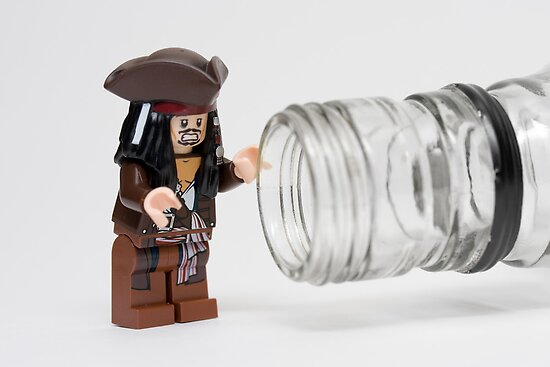 Why is the rum always gone?  by Kevin  Poulton - aka 'Sad Old Biker'