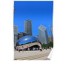 Millenium Park and The Bean Poster