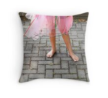 Butterfly Fairy 2 Throw Pillow