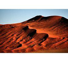 Detailed Dunes, Namibia  Photographic Print