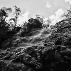 Cudgewa Falls, North East Victoria by Jenny Enever