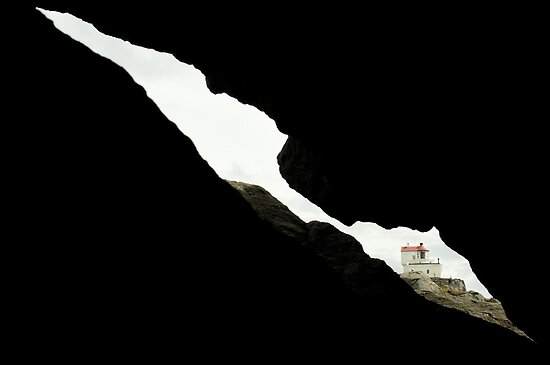 The Lighthouse Geitungen Fyr by Bjarte Edvardsen